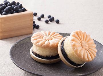 京丹後 黒豆チーズケーキ